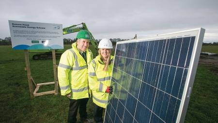 £7 million NI Water Renewable Energy Scheme gets underway in Antrim