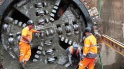 Breakthrough in tunnelling project