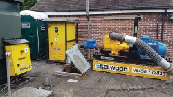Leading pump rental specialist Selwood provides green-friendly solution to overpumping job