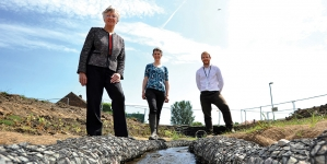 Construction starts on North East flood scheme