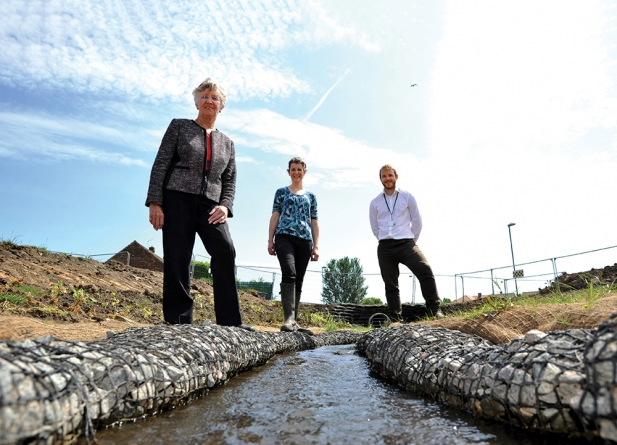 Construction starts on North East flood scheme
