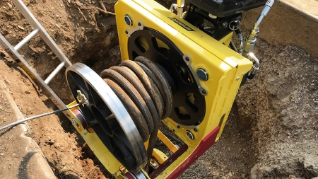 Is trenchless pipe pulling the most environmentally sound way to repair and replace lead pipes?